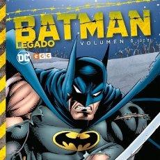 Cómics: BATMAN LEGADO VOL. 1 (DE 2) - ECC - TAPA DURA - IMPECABLE - OFF15. Lote 134131606