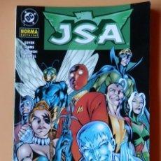 Cómics: JSA: LA SOCIEDAD DE LA JUSTICIA. ESTE VOLUMEN INCLUYE JSA Nº 16 AL 20 USA - DAVID S. GOYER. GEOFF JO. Lote 134253874