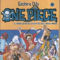 Cómics: MANGA: ONE PIECE NUMERO 61: EL AMANECER HACIA LA AVENTURA EN EL NUEVO MUNDO. Lote 134365893