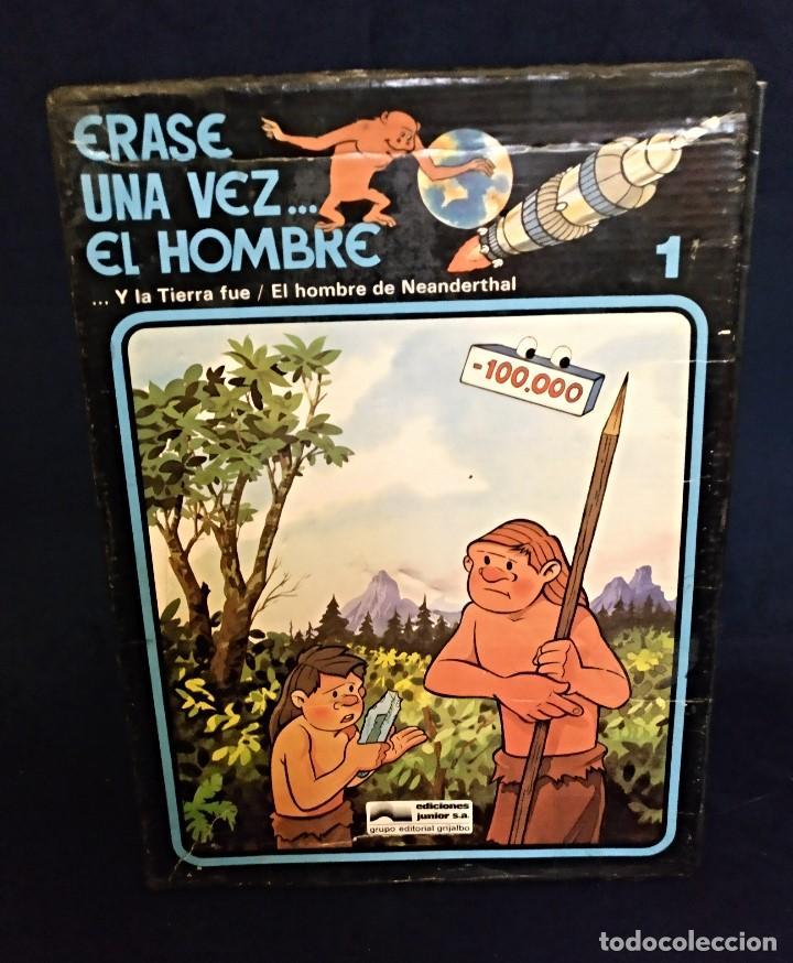 ENCICLOPEDIA DE ERASE UNA VEZ EL HOMBRE DEL 78,COMPLETO (Tebeos y Comics - Comics Pequeños Lotes de Conjunto)