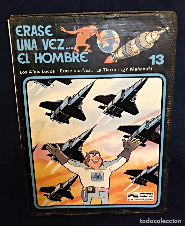 Cómics: Enciclopedia de ERASE UNA VEZ EL HOMBRE del 78,Completo - Foto 2 - 134438470