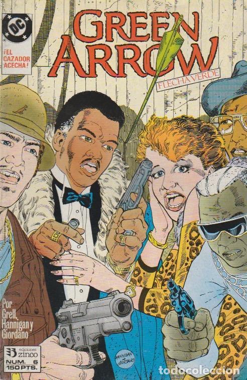 GREEN ARROW. ZINCO 1989. Nº 6 (Tebeos y Comics - Comics otras Editoriales Actuales)