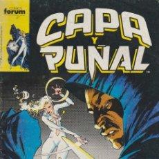 Cómics: CAPA Y PUÑAL. FORUM 1989. Nº 10. Lote 134727045