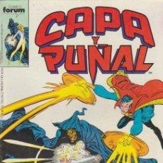Cómics: CAPA Y PUÑAL. FORUM 1989. Nº 9. Lote 134727049