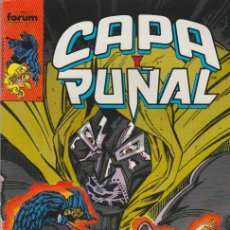 Cómics: CAPA Y PUÑAL. FORUM 1989. Nº 7. Lote 134727061