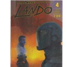 Cómics: STAR WARS N,4 LANDO. Lote 135008514