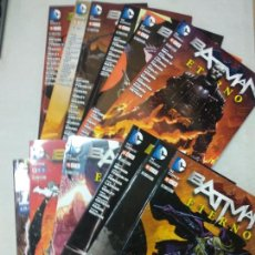Cómics: BATMAN ETERNO COLECCION COMPLETA TOMOS 1+2+3+4+5+6+7+8+9+10+11+12 (ECC). Lote 135029194