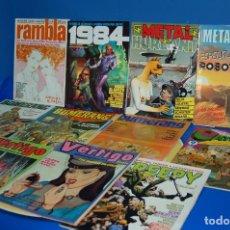 Cómics: COMICS UNDERGROUND-LOTE DE 11 COMICS VERTIGO-RAMBLA-1984-BUMERANG-METAL HURLANT Y MAS. Lote 135064142