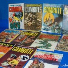 Cómics: COMICS UNDERGROUND BELICOS COMBATE -11 NUMEROS 1975-1981. Lote 135073506