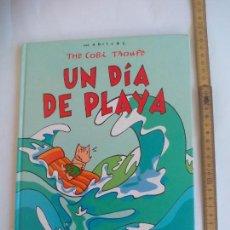 Cómics: THE COBI TROUPE. UN DIA DE PLAYA. POR JAVIER MARISCAL. PLAZA & JANES CIRCULO DE LECTORES1992. Lote 135146034