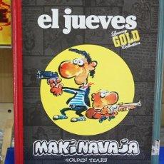Cómics: MAKINAVAJA, GOLDEN YEARS. IVÁ. EL JUEVES LUXURY GOLD COLLECTION. Lote 135183114