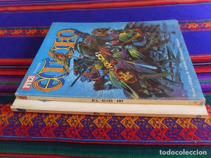 Cómics: COLECCIÓN TRINCA NºS 9 Y 18 EL CID Y EL CID II. DONCEL 1970. TAPA DURA. BUEN ESTADO Y RAROS. - Foto 2 - 135384406