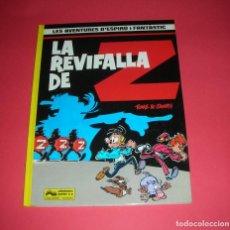 Cómics: ESPIRU I FANTASTIC LA REVIFALLA DE Z NUM. 23 ED. JUNIOR 1990 52 PÀGINES , NOU I MAI LLEGIT. Lote 135512202
