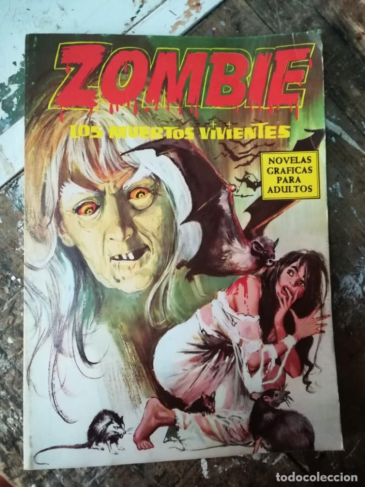 ZOMBIE, LOS MUERTOS VIVIENTES. EDICIONES PETRONIO 1974 (Tebeos y Comics Pendientes de Clasificar)