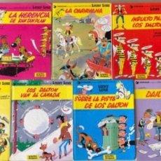 Cómics: LUCKY LUKE. LOTE DE 9 NÚMEROS TAPA DURA. ED. GRIJALBO/DARGAUD. N°5 LA CURACIÓN DE LOS DALTON (1986. Lote 152019920