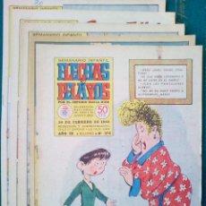 Cómics: 5 EJEMPLARES DE FLECHAS Y PELAYOS - VER FOTOS (LOTE 2). Lote 135670763