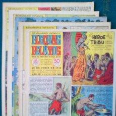Cómics: 5 EJEMPLARES DE FLECHAS Y PELAYOS - VER FOTOS (LOTE 3). Lote 135671507
