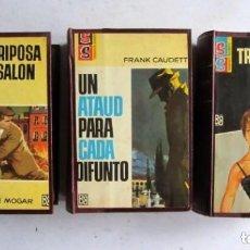 Cómics: PUNTO ROJO, SERVICIO SECRETO,ARCHIVO SECRETO.3 ENCUADERNACIONES DE LUJO CON 15 EJEMPLARES 1967 1ª ED. Lote 135683191