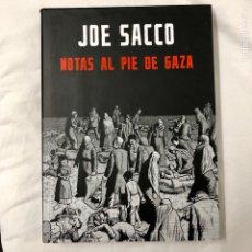Cómics: COMIC NOTAS AL PIE DE GAZA DE JOE SACCO MONDADORI PALESTINA 2010 PRIMER EDICION. Lote 135726477
