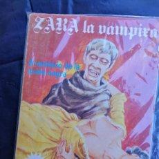 Cómics: ZARA LA VAMPIRA- EL MISTERIO DE LA ARAÑA NEGRA- EDICIONES ELVIBERIA, 1976.(COMIC PARA ADULTOS). Lote 135745566
