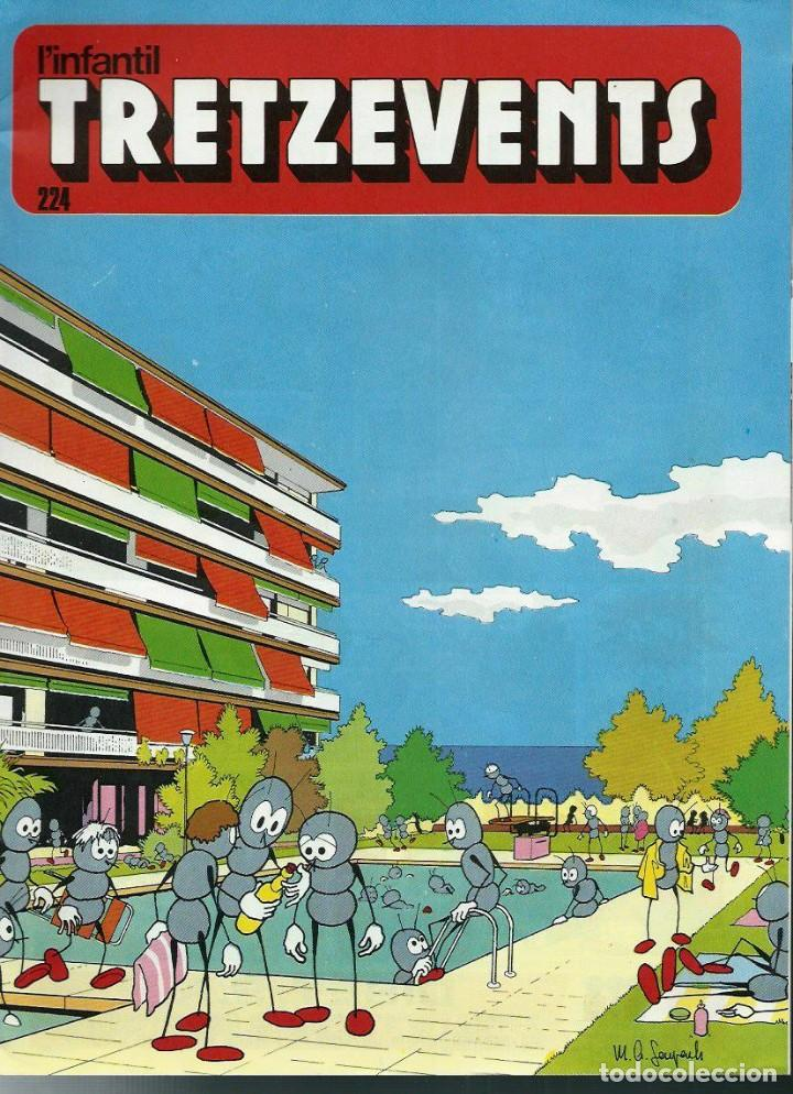 LOT AMB 11 EXEMPLARS DE LA REVISTA TRETZEVENTS - ANYS 1970 - Nº 223 A 283 - EN MOLT BON ESTAT (Tebeos y Comics - Comics Pequeños Lotes de Conjunto)