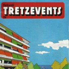 Comics : LOT AMB 11 EXEMPLARS DE LA REVISTA TRETZEVENTS - ANYS 1970 - Nº 223 A 283 - EN MOLT BON ESTAT. Lote 135748690