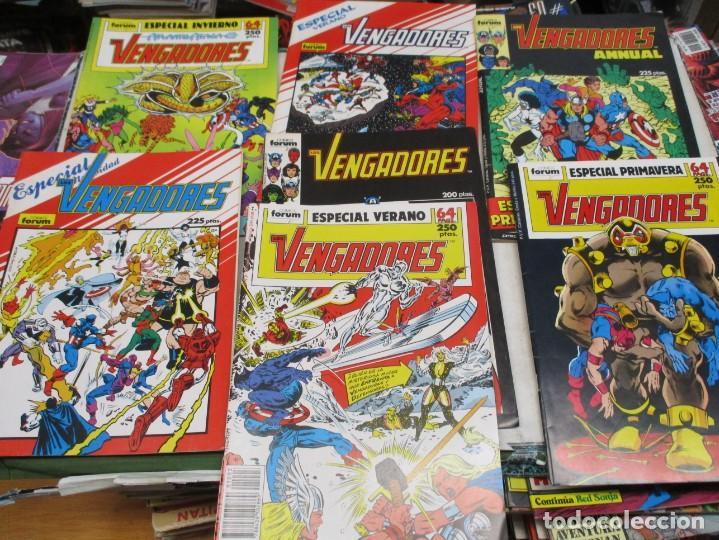 Cómics: COLECCION LOS VENGADORES - DEL 1 AL 20 Y DEL 54 AL 103 + 7 EXTRAS - LEE DESCRIPCION - ED.FORUM - Foto 2 - 135748854