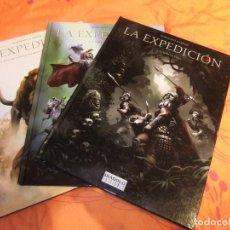 Cómics: LA EXPEDICION TRES TOMOS COMPLETA DIABOLO EDICIONES. Lote 135809502