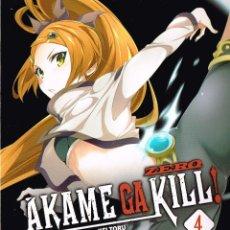 Cómics: AKAME GA KILL,ZERO,Nº 4,MANGA,NORMA EDITORIAL. Lote 135815354