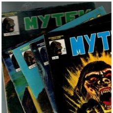 Comics: MYTEK EL PODEROSO. COMPLETA 1 AL 5. MUNDICOMICS. VÉRTICE,1981.. Lote 135856102