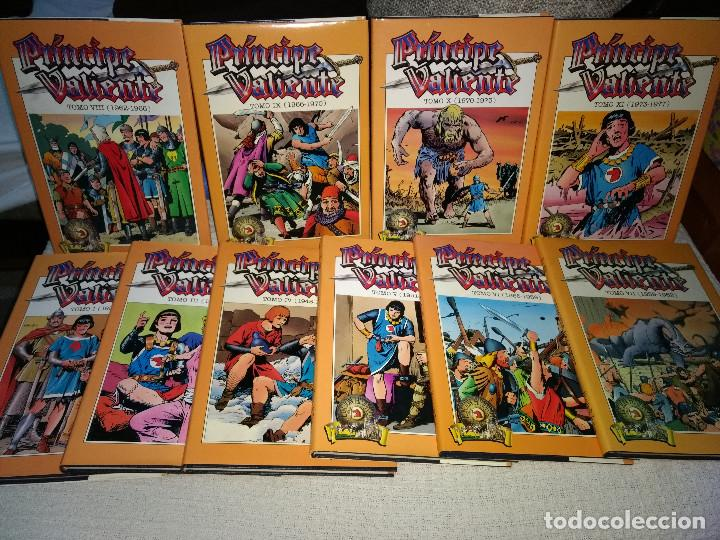 PRÍNCIPE VALIENTE EDICIÓN HISTÓRICA 10 TOMOS EDICION HISTORICA (Tebeos y Comics - Buru-Lan - Principe Valiente)