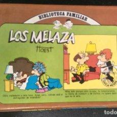 Cómics: LOS MELAZA 1 AL 12 - BIBLIOTECA FAMILIAR EDITORIAL OVEJA NEGRA - BILL HOEST -. Lote 171613657