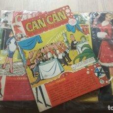 Cómics: CAN CAN. CASI COMPLETO (FALTAN 3, LOS NÚMEROS 91,93 Y 94 ) 0- 124 + ALMANAQUES 1959-1960. Lote 136094266