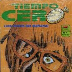Cómics: TIEMPO CERO - M.C. EDICIONES 1987 - COMPLETA 11 NUMEROS. Lote 136136046