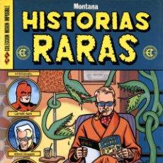 Cómics: HISTORIAS RARAS, DE MONTANA (COMPLOT, 1990) COLECCIÓN MISIÓN IMPOSIBLE-23. Lote 136419880