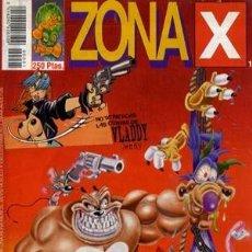 Cómics: ZONA X - EDICIONES EL JUEVES 1997 - COMPLETA 4 NUMEROS. Lote 136154682