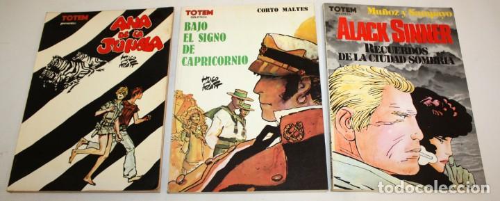 Cómics: LOTE DE 36 COMICS -TOTEM BIBLIOTECA-SUPER TOTEM-TOTEM AVENTURAS Y VIAJES.ETC..CON DIBUJO ORIGINAL - Foto 3 - 136183382