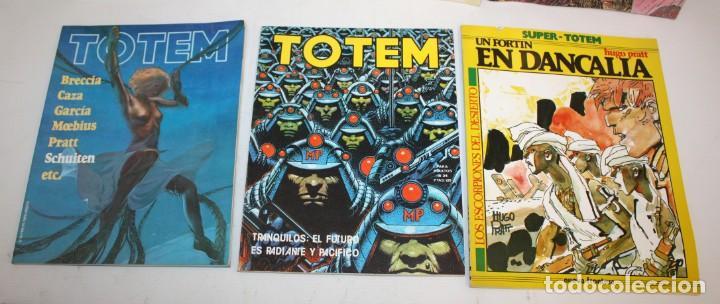 Cómics: LOTE DE 36 COMICS -TOTEM BIBLIOTECA-SUPER TOTEM-TOTEM AVENTURAS Y VIAJES.ETC..CON DIBUJO ORIGINAL - Foto 5 - 136183382