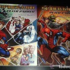 Cómics: SPIDER-MAN DIARIO DE PETER PARKER TOMOS 1 Y 2 - ALBERTO SANTOS EDITOR - MUY BUEN ESTADO. Lote 244488680