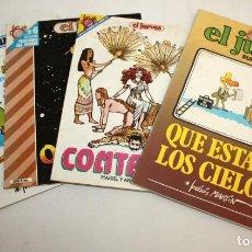 Cómics: EL JUEVES- PENDONES DEL HUMOR-3 NUMEROS-Y- EL JUEVES -SUPLEMENTO MENSUAL-1 NUMERO.. Lote 136232106