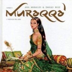 Cómics: MURAQQA, DE ANA MIRALLES Y EMILIO RUIZ (12 BIS, 2011) TAPA DURA. NUEVO. Lote 136313106