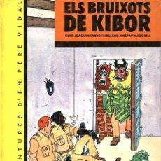 Cómics: ELS BRUIXOTS DE KIBOR, DE MADORELL I JOAQUIM CARBÓ (UNICORN, 1983) TAPA DURA. EN CATALÀ. Lote 136314230