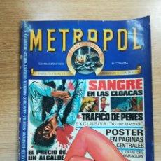 Cómics: METROPOL #1. Lote 136390569