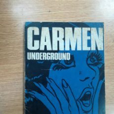 Cómics: EROGYS #1 CARMEN UNDERGROUND (SERAFIN - GISA EDICIONES). Lote 136399698