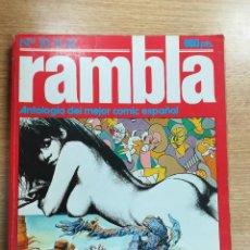 Cómics: RAMBLA ANTOLOGIA (NUMEROS 10 A 12). Lote 136400318