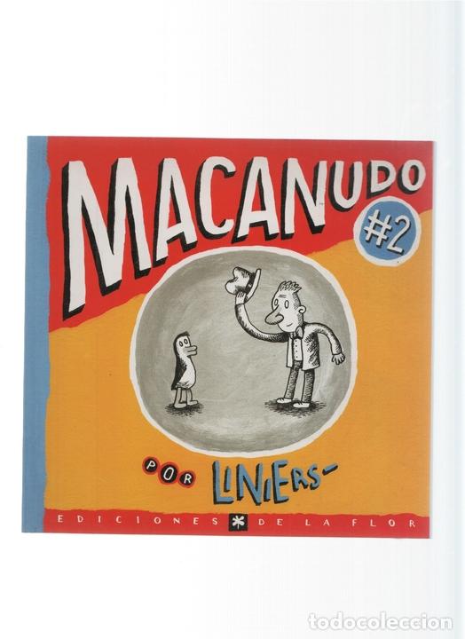 Macanudo numero 02 - Liniers (Ediciones La Flor 2008) segunda mano