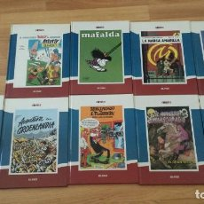 Cómics: COMICS EL PAIS-9 LIBROS-TAPA DURA. Lote 136492334