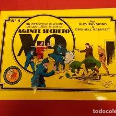 Cómics: AGENTE SECRETO X-9. Nº 4 . UN DETECTIVE CLÁSICO DE LOS AÑOS TREINTA. EDICIONES ESEUVE. Lote 136525030