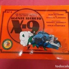 Cómics: AGENTE SECRETO X-9. Nº 5 . UN DETECTIVE CLÁSICO DE LOS AÑOS TREINTA. EDICIONES ESEUVE. Lote 136525086