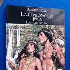 Cómics: LA CIVILIZACIÓN INCA - RELATOS DEL NUEVO MUNDO - JOSÉ ORTIZ. Lote 136602974